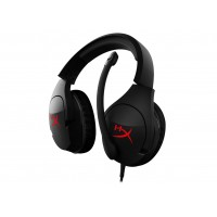 Headset  HyperX Cloud Stinger, Black/Red, 90-degree rotating ear cups, Microphone built-in, Frequency response: 18Hz–23,000 Hz, Cable length:1.3m+1.7m extension, 3.5 jack, Input power rated 30mW, maximum 500mW