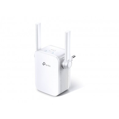 TP-LINK TL-WA855RE  N300 Wireless Wall Plugged Range Extender, Atheros, 2T2R, 300Mbps 2.4GHz, 802.11n/g/b, 1 Lan Port, Ranger Extender button, Range extender mode, WPS, 2 external Antennas