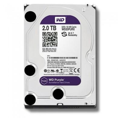 """3.5"""" HDD 2.0TB  Western Digital WD20PURZ Caviar® Purple™, IntelliPower, 64MB, SATAIII"""