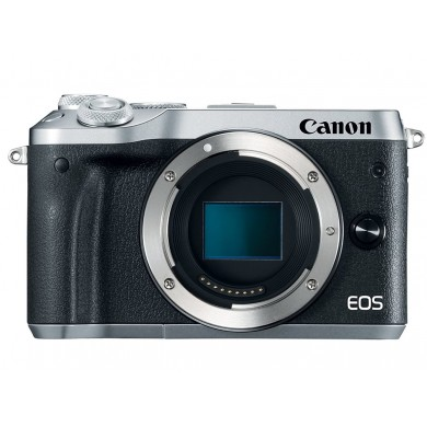 Mirrorless Camera CANON EOS M6 Body Silver (1725C044)