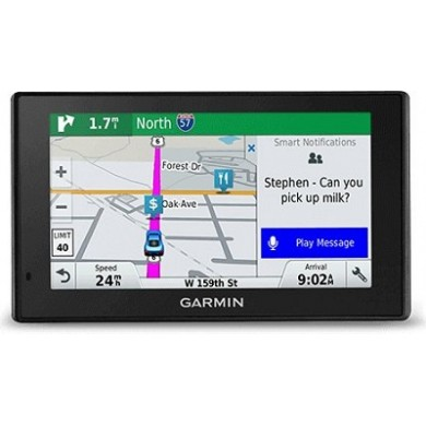 "GARMIN DriveSmart 51 LMT-D, Licence map Europe+Moldova, 5.0"" LCD (480*272), MicroSD, Bluetooth, WiFi, Hands-free calling, Junction view, Lane assist, Smart notifications,Lifetime traffic updates, Battery life up to 1 hours, 170.8g"