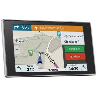 """GARMIN DriveLuxe 51 LMT-D, Licence map Europe+Moldova, 5.0"""" LCD (800*480), MicroSD, Bluetooth, WiFi, Hands-free calling, Powered magnetic mount,Junction view, Lane assist, Smart notifications,Lifetime traffic updates, Battery life up to 1 hours, 231g"""