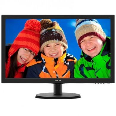 "21.5"" Monitor PHILIPS 223V5LHSB / 5 ms / Black"