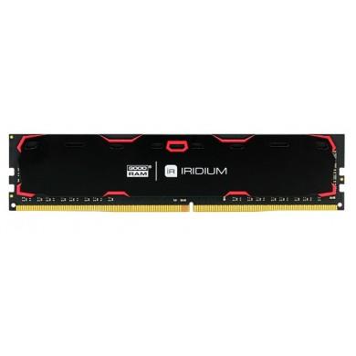 4GB DDR4-2400  GOODRAM Iridium, PC19200, CL17, 1.2V, Aluminum BLACK heatsink