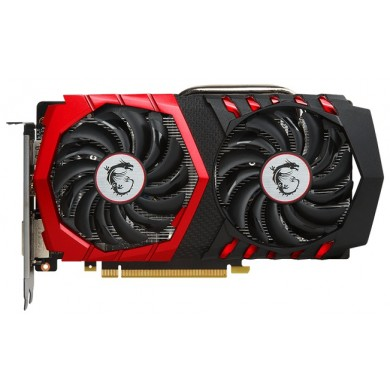 MSI GeForce GTX 1050 Ti GAMING X 4G /  4GB GDDR5 128Bit 1493/7108Mhz (OC Mode), DVI, HDMI, DisplayPort, Dual fan - TWIN FROZR VI (Zero Frozr/Airflow Control Technology), TORX 2.0 FAN, Gaming App, Retail