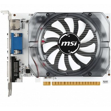 MSI GeForce GT 730 (N730K-2GD3/OCV1) /  2GB GDDR3 64Bit 1006/1600Mhz, D-Sub, DL-DVI-D, HDMI, Single fan, Retail