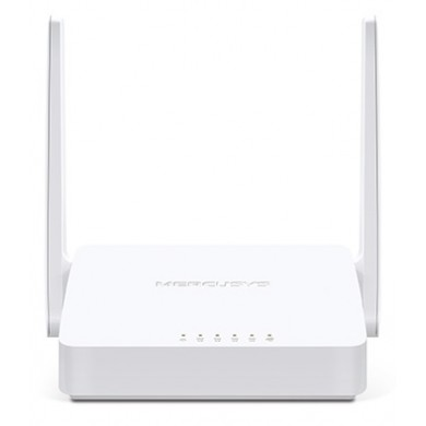 MERCUSYS MW305R  N300 Wireless Router, 300Mbps on 2.4GHz, 802.11n/b/g, 1 WAN + 4 LAN, 2 fixed antennas