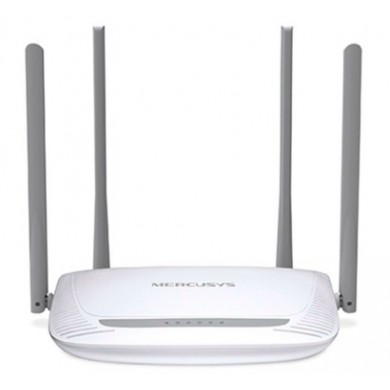 MERCUSYS MW325R  N300 Wireless Router, 300Mbps on 2.4GHz, 802.11n/b/g, 1 WAN + 3 LAN, 4 fixed antennas (provide up to 500m2 of wireless coverage)