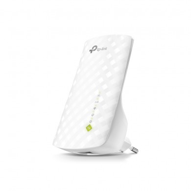 TP-LINK RE200  AC750 Wireless Wall Plugged Range Extender, Atheros, 433Mbps on 5GHz +  300Mbps on 2.4GHz, 802.11ac/n/g/b, 1 Lan Port, Ranger Extender mode, Access Control, Concurrent Mode boost both 2.4G/5G, WPS, internal antennas
