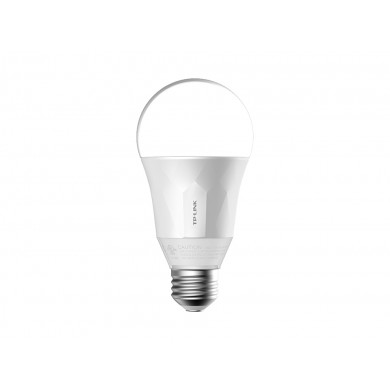 TP-LINK LB100, Smart Wi-Fi LED Bulb E27 with Dimmable Light, White, Color Temperature 2700K, Rated power 8W, 600 lumens, 15,000 hours, Beam angle 270°, Remote control via Wifi, Adjust brightness