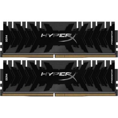 16GB (Kit of 2*8GB) DDR4-3000  Kingston HyperX® Predator DDR4, PC24000, CL15, 1.35V, BLACK heat spreader, Intel XMP Ready (Extreme Memory Profiles)