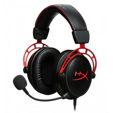 Casti Gaming HyperX Cloud Alpha, black/red, [HX-HSCA-RD/EE]