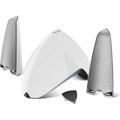 Edifier E3360BT White, 2.1/ 64W (40W+ 2x12W) RMS, Audio in: Bluetooth 4.0, auxiliary, remote control, (sub.5