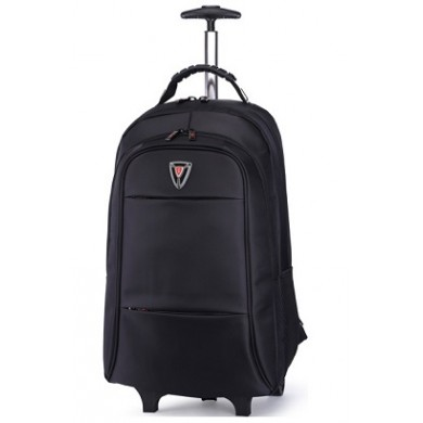 "17-18"" NB Trolley Backpack - SUMDEX RED (S) ""TrolleyPack"", Black, Main Compartment: 43 x 30 x 10cm, Dimensions: 58 x 39 x 19 cm"