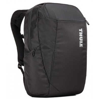 """15.6"""" NB Backpack - THULE Accent 23L, Black, Safe-zone, 1680D Polyester, Dimensions: 30 x 26 x 46  cm, Weight 0.98 kg, Volume 23L"""