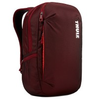 "15.6"" NB Backpack - THULE Subterra 23L, Ember (Red), Safe-zone, 800D nylon, Dimensions: 31 x 22 x 50 cm, Weight 1 kg, Volume 23L"