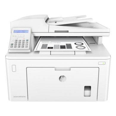 MFD HP LaserJet Pro M227fdn, White, A4, Fax, 28ppm, 256MB, up to 30000 monthly, 1200dpi, Duplex, 35 sheets ADF,  Hi-Speed USB 2.0, Fast Ethernet 10/100Base-TX, HP ePrint, Apple AirPrint (CF230A ~1600 pages, CF230X~3500 pages)