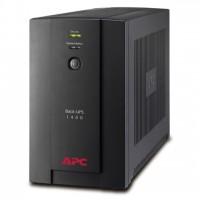 APC Back-UPS BX1400UI, 1400VA/700W, AVR, 6 x IEC Sockets ( 3 Battery Backup + 3 Surge Protected), RJ-11 Data Line Protection, LED indicators, PowerChute USB Port