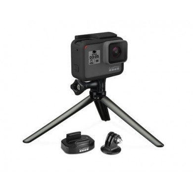GoPro Tripod Mounts - attach your GoPro to any standard tripod with the Tripod Mount and Quick Release Tripod Mount. Also includes a Mini Tripod that attaches to your GoPro's frame or housing, compatible with all GoPro cameras.