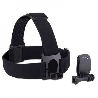 GoPro Head Strap + QuickClip -wear your GoPro on your head with the Head Strap, or use the QuickClip to attach it to a backwards baseball cap or other 3mm to 10mm thick object, compatible with all GoPro cameras.