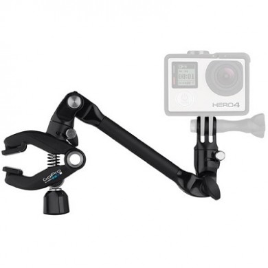 GoPro The Arm (Articulating Extension Mount) -for capturing unique perspectives during low-impact activities. Use it on musical instruments, art canvases, tree branches and more, compatible with all GoPro cameras.