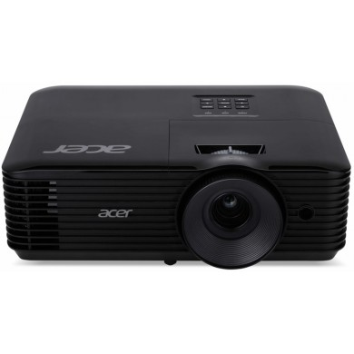 ACER X168H (MR.JQ711.001) DLP 3D, WUXGA, 1920x1200, 10000:1, 3500Lm, 10000hrs (Eco), HDMI, VGA, 3W Mono Speaker, Black, 2,8kg