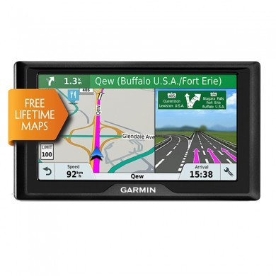 "GARMIN Drive 61 LMT-S, Licence map Europe+Moldova, 6.0"" LCD (800*480), MicroSD, Garmin Guidance 2.0, Junction view, Lane assist, Foursquare POIs, Lifetime traffic updates, Speaks street names, Trip planner, Battery life up to 1 hours, 170.8g"
