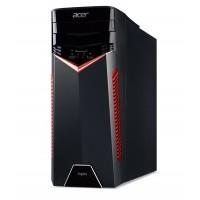 Acer Aspire GX-281 (DG.E0FME.009) AMD Ryzen 5 1600 up to 3.60 GHz, 8GB DDR4 RAM, 256GB SSD + 2TB HDD, DVDRW, Cardreader, AMD RX-580 4GB Graphics, 500W PSU, Endless OS, no KB/MS, Black