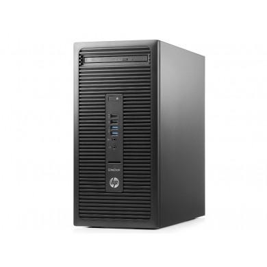 HP EliteDesk 705 G3 MT +W10 Pro AMD Ryzen™ 3 PRO 1200 (Quad Core, up to 3.40GHz, 8MB), 8GB DDR4 RAM, 256GB SSD, DVDRW, AMD Radeon™ R7 430 2GB Graphics, 280W PSU, VGA, 2*DP, RS232, USB KB&MS, Win 10 Pro, Black