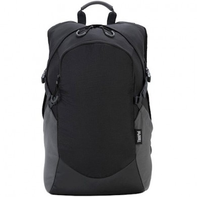"""15.6"""" Lenovo ThinkPad - Active Backpack Medium, Lightweight Weather-Resistant and Tear-Resistant Ripstop Nylon, Air-Mesh Back Panel and Shoulder Straps, Black."""
