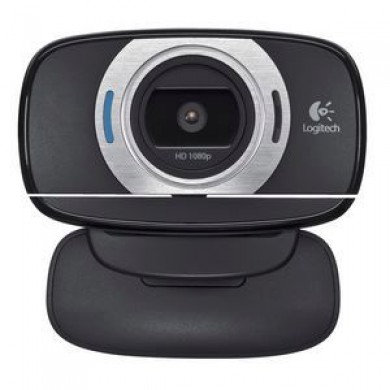 Logitech HD WebCam C615, Microphone(noise reduction), HD 720p  video calls & Full HD 1080p recording, up to 8 Megapixel images, Logitech Fluid Crystal™ Technology  with Autofocus,  fold-and-go design, fits laptops, LCD or CRT monitors, USB 2.0