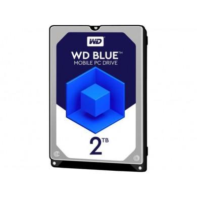 """2.5"""" HDD 2.0TB  Western Digital WD20SPZX, Blue™, SMR Drive, 5400rpm, 128MB, 7mm, SATAIII"""