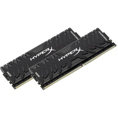 16GB (Kit of 2*8GB) DDR4-3333  Kingston HyperX® Predator DDR4, PC26660, CL16, 1.35V, BLACK heat spreader, Intel XMP Ready (Extreme Memory Profiles)