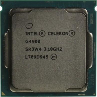 Intel® Celeron® G4900, S1151, 3.1GHz (2C/2T), 2MB Cache, Intel® UHD Graphics 610, 14nm 54W, tray