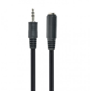 Audio cable 3.5mm - 3m - Cablexpert CCA-423-3M, 3.5 mm stereo audio extension cable, 3m, 3.5mm stereo plug to 3.5mm stereo socket