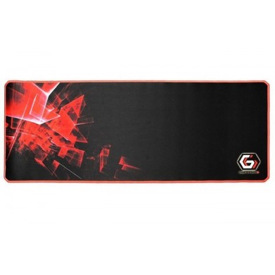 Gembird Mouse pad MP-GAMEPRO-XL, Gaming, Dimensions: 350 x 900 x 3 mm, Material: natural rubber foam + fabric, Black