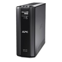 APC Back-UPS Pro BR1200G-RS, 1200VA/720W, AVR, 6 x CEE 7/7 Schuko (3 Battery Backup, all 6 Surge Protected), RJ-11/ RJ-45 Data Line Protection, LCD Display,  PowerChute USB /Serial Port