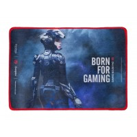 """MARVO """"G15"""", Gaming Mouse Pad, Dimensions: 350 x 255 x 4 mm, Material: rubber base + microfiber, Stitched edges, Black"""