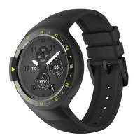 "Ticwatch  S by Mobvoi, Knight Black, 1.4"" OLED Touch Display, Wear OS by Google, 512MB/4GB, GPS, Time, Mic/Speaker for incoming calls, Heart Rate, Steps, Alarm, Distance Display, Average Daily Steps, Weather, Notifications, IP67, 48Hrs+, BT4.1, 45.5g"
