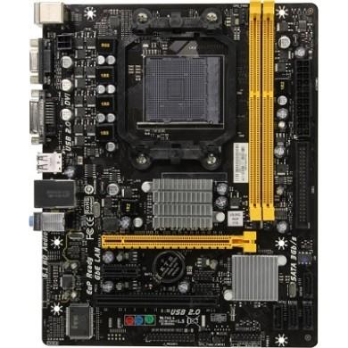 Biostar A960D+ V3, Socket AM3+/AM3, AMD 760G / SB710, Dual 2xDDR3-1866, ATI Radeon™ HD3000 Graphics up 1GB, VGA, DVI-D, 1xPCIe X16, 1xPCIe X1, 1xPCI, 1xATA133 + 4xSATA2, RAID, ALC662 HDA, GbE LAN, 125W, mATX