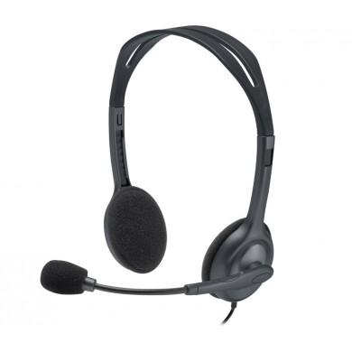 Casti Logitech Stereo H111 - One Plug