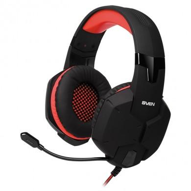 Casti SVEN AP-G988MV, Black/Red