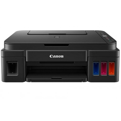 MFD CISS Canon Pixma G2411, Color Printer/Scanner/Copier, A4, 4800x1200dpi_2pl, ISO/IEC 24734 - 8.8 / 5.0 ipm, 64-275g/m2, LCD display_6.2cm, Rear tray: 100 sheets, USB 2.0, 4 ink tanks: GI-490BK (6 000 pages*),GI-490C,GI-490M,GI-490Y(7 000 pages*)
