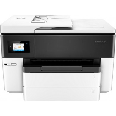 MFD HP OfficeJet Pro 7730 Wide, White,  A3, Fax,  up to 34ppm, 4800x1200dpi, Duplex, 512MB Memory, 6,75cm Touch LCD, up to 30000 pages, 35pages ADF, USB 2.0, WiFi 802.11b/g/n, Ethernet, ePrint,  AirPrint (#953/XL B/C/M/Y Cartridge)