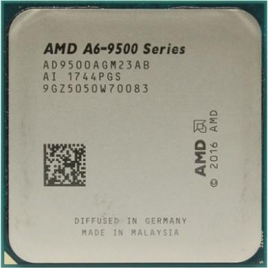 AMD A-Series A6-9500, Socket AM4, 3.5-3.8GHz (2C/2T), 1MB L2, Intergrated Radeon™ R5 Series, 65W 28nm, Box