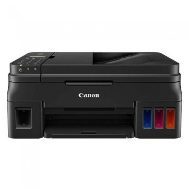 MFD CISS Canon Pixma G4411, Color Printer/Scanner/Copier/FAX/Wi-Fi, ADF(20-sheet), A4, Print 4800x1200dpi_2pl, Scan 600x1200dpi, ESAT 12.2/8.7 ipm,64-275г/м2, LCD display_6.2cm,USB 2.0, 4 ink tanks: GI-490BK,GI-490C,GI-490M,GI-490Y