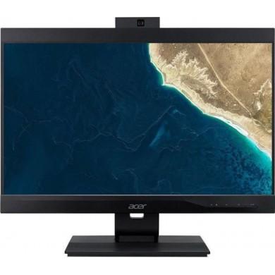 "All-in-One PC - 21.5"" ACER Veriton Z4660G FHD IPS Intel® Core® i3-8100 3.6GHz, 4GB DDR4, 1TB HDD, CR, Intel® UHD 630, VGA, DP, USB-C, M.2 Slot, COM-port, VESA, 180° Adjustable 2MP FHD cam, Wi-Fi-AC/BT5.0, Wireless KB&MS, Endless OS, Black"