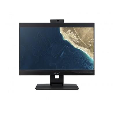 All-in-One PC - 23.8'' ACER Veriton Z4860G, FHD IPS Intel® Core® i5-8400 up to 4.0GHz, 8GB DDR4, 256GB SSD, CR, Intel® UHD 630, VGA, DP, USB-C, M.2 Slot, COM-port, VESA, 180° Adjustable 2MP FHD cam, Wi-Fi-AC/BT5.0, wireless KB&MS, Endless OS, Black