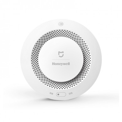 "XIAOMI ""MiJia Honeywell Smoke Detector"" CN, White, Smoke Detector with Remote alert, Sound Alarm, Self-inspection Reminder, Notification on Mobile phone"