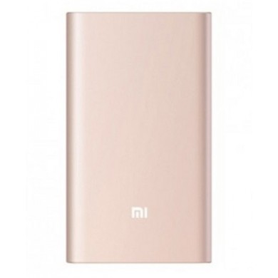 10000mAh Power Bank - Xiaomi Mi Power Bank Pro 10K, Gold, Metal case, 9 protective layers, Input (USB-C): 5.0V=2.0A / 9.0V=2.0A/ 12.0V=1.5A, Output (USB-A): 5.0V=2.4A/ 9.0V=2.0A/ 12.0V=1.5A, Two-way Quick Charge, MicroUSB/USB-C adapter